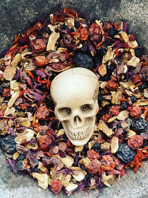 Spirit Offering Powder - The Morrigans' Psychopomp