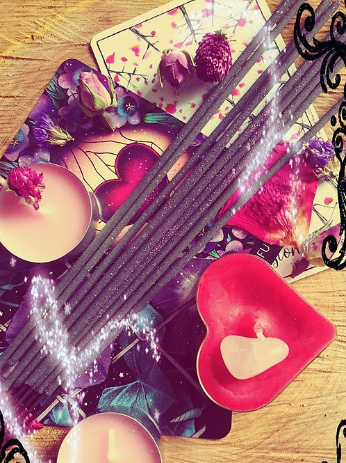 "Starry Incense Sticks - ""Love thyself, Witch!"" - Self Love and Healing"