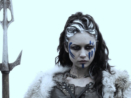 Pagan Poetry - Warrior in Woad