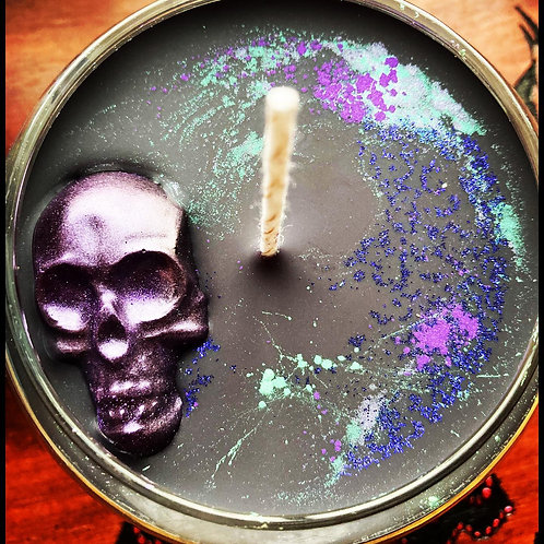 Halloween Spell Candle - Witch Fyre Cauldron