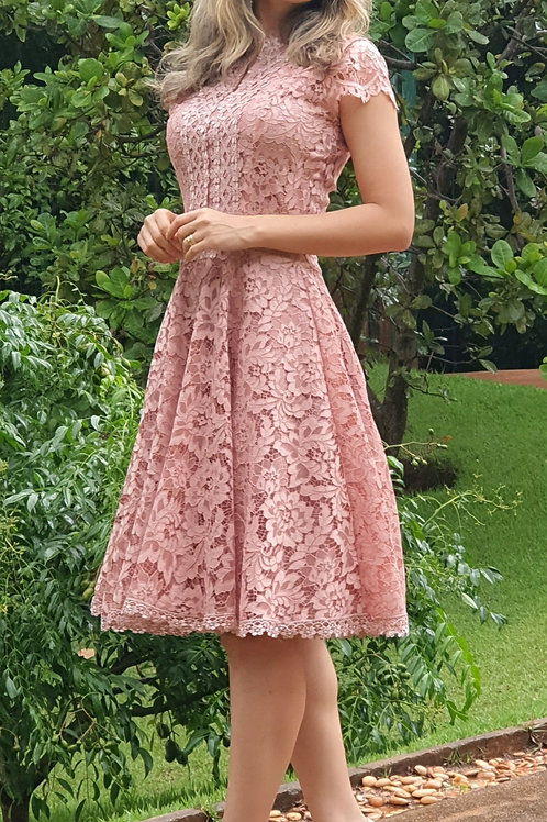 Vestido Barbie Midi