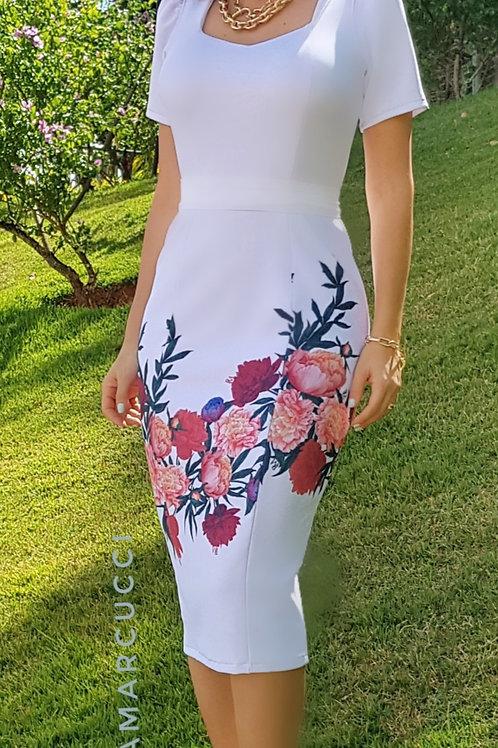 Vestido Camila Tubinho Flores