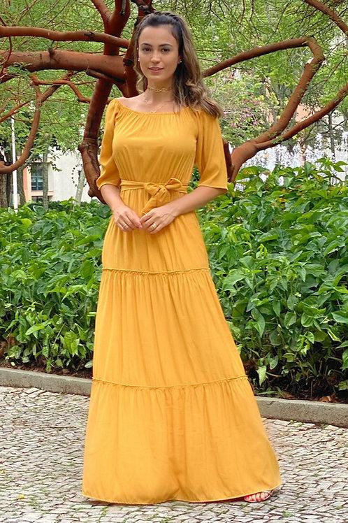 Vestido Longo Raio de Sol