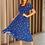 Thumbnail: Vestido Midi Sonho de Verão - Estampa de Borboletas
