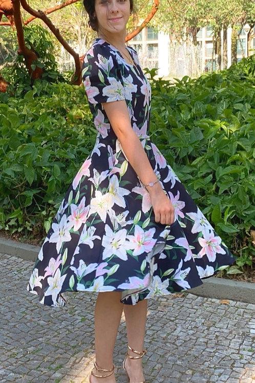 Vestido Jardim de Lírios