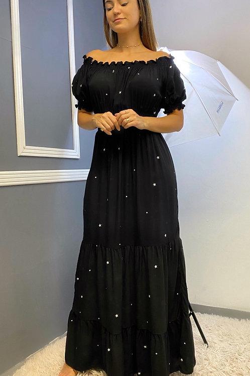 Vestido Noite Estrelada
