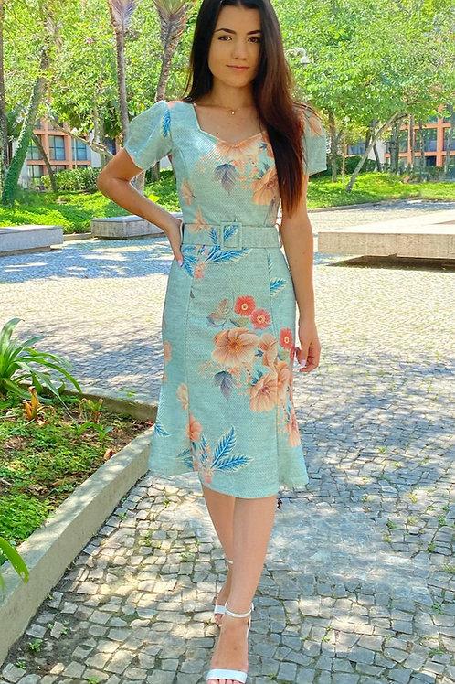 Vestido Azul do Céu