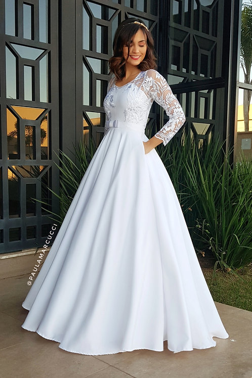 Vestido Liz Longo