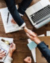 Customer relationship handshake
