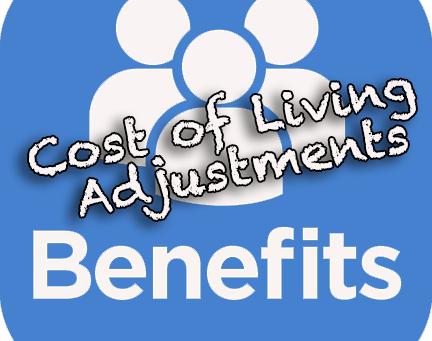 Employee Benefit Cost of Living Adjustments