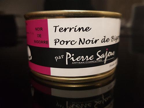 Terrine de Porc Noir sw Bigorre boîte, 130 gr. - SAJOUS