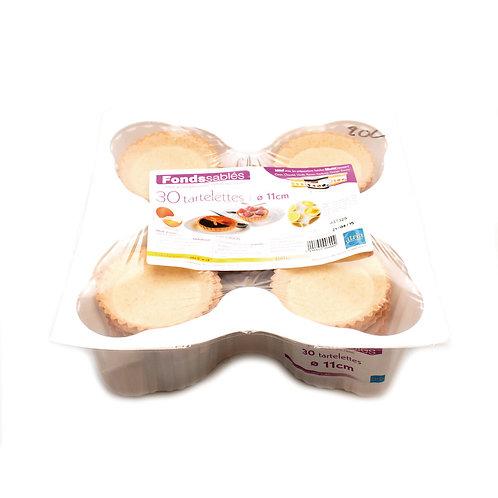 Tærtebund salt, 11 cm., 30 stk. ATRIA