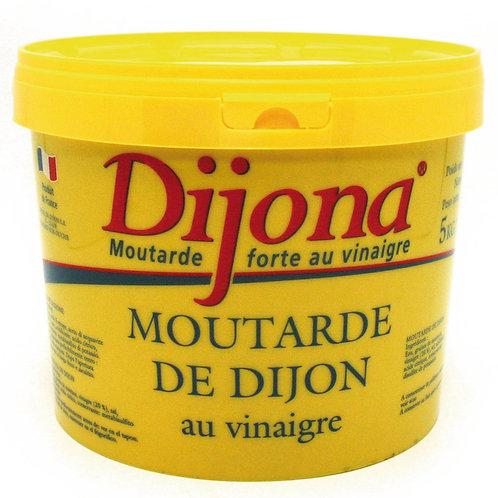 Dijon sennep, 5 kg.