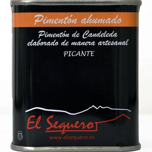 Pimentón Picante - stærk paprika, 70 gr.