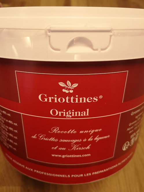 Griottines i spand, 3 l.