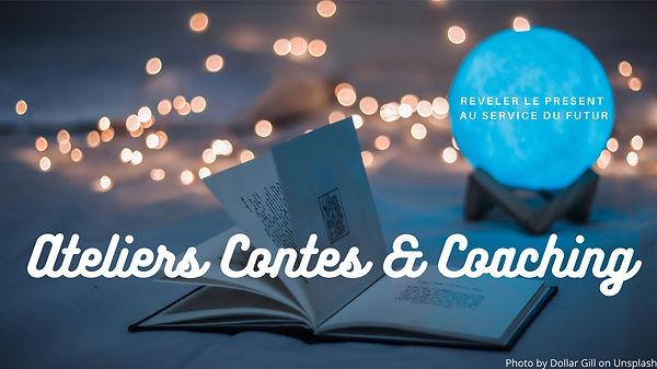 Atelier Contes & Coaching - Visuel sans