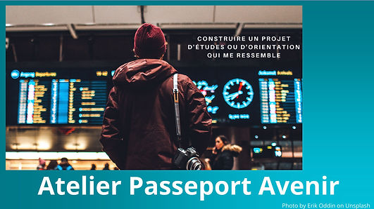 Atelier Passeport Avenir - Visuel pour s