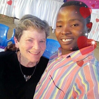Jeanette with Student