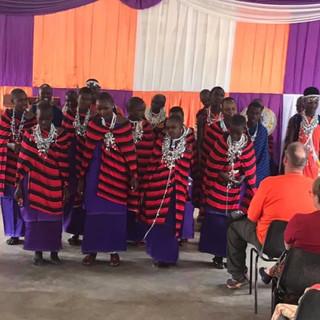 Kilimanjaro Baptist Church Service