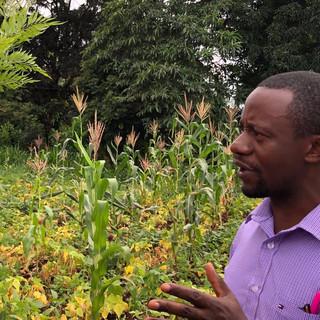 Frank Purchased Land for Kilimanjaro Baptist Church