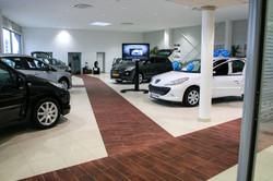 Autohaus Bodenbeläge