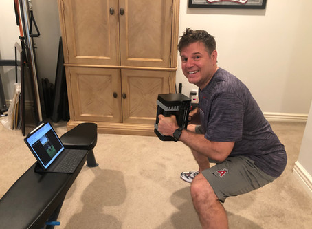 Fit-at-Home Member of the Week!