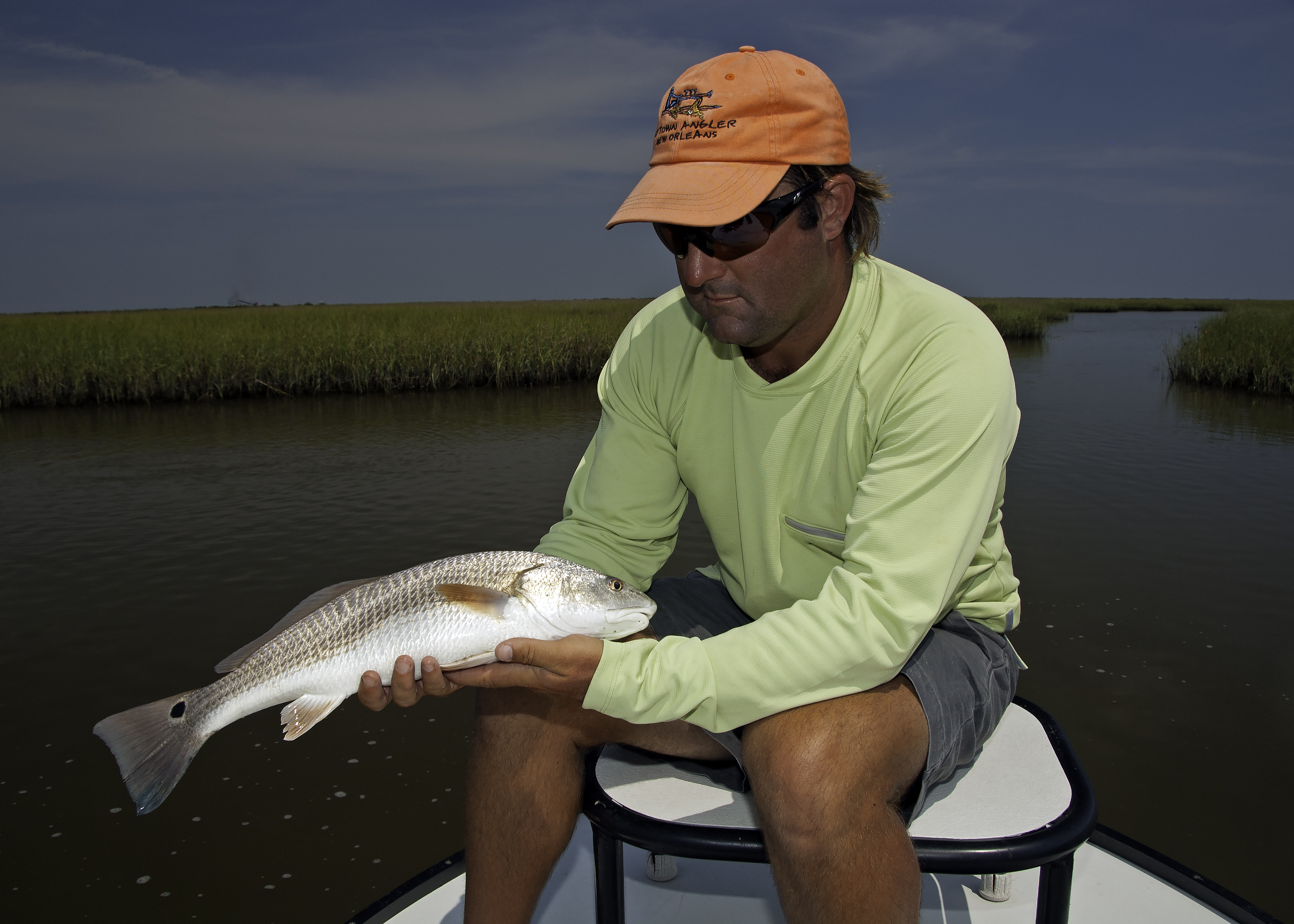 Brian with a nice Redfish