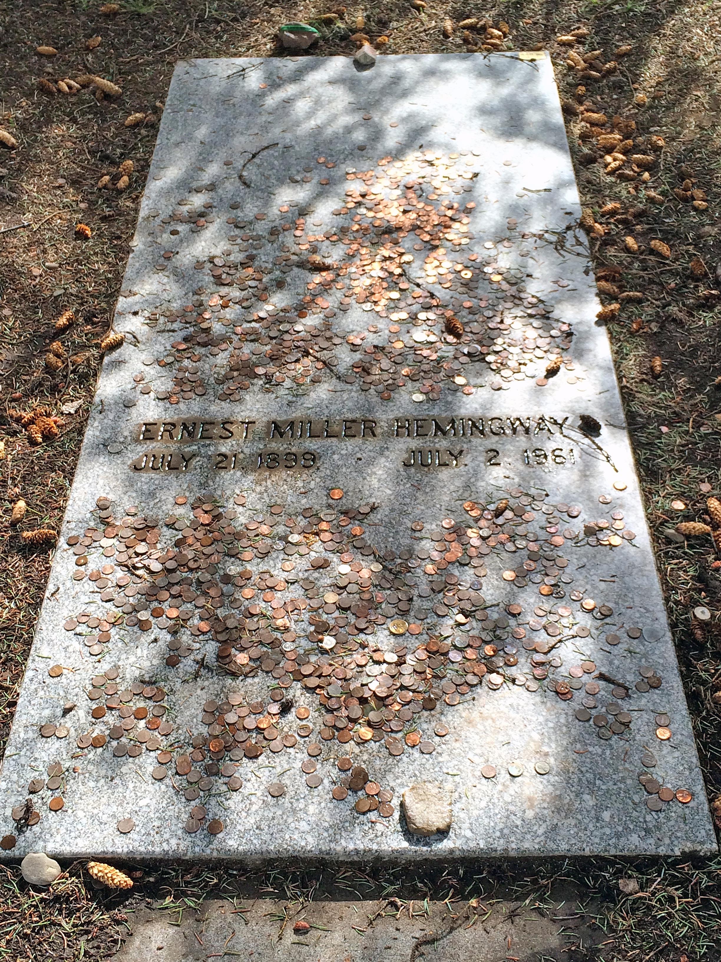 Hemingway's Grave (Sun Valley)