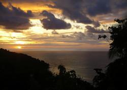 Sunset in Quepos