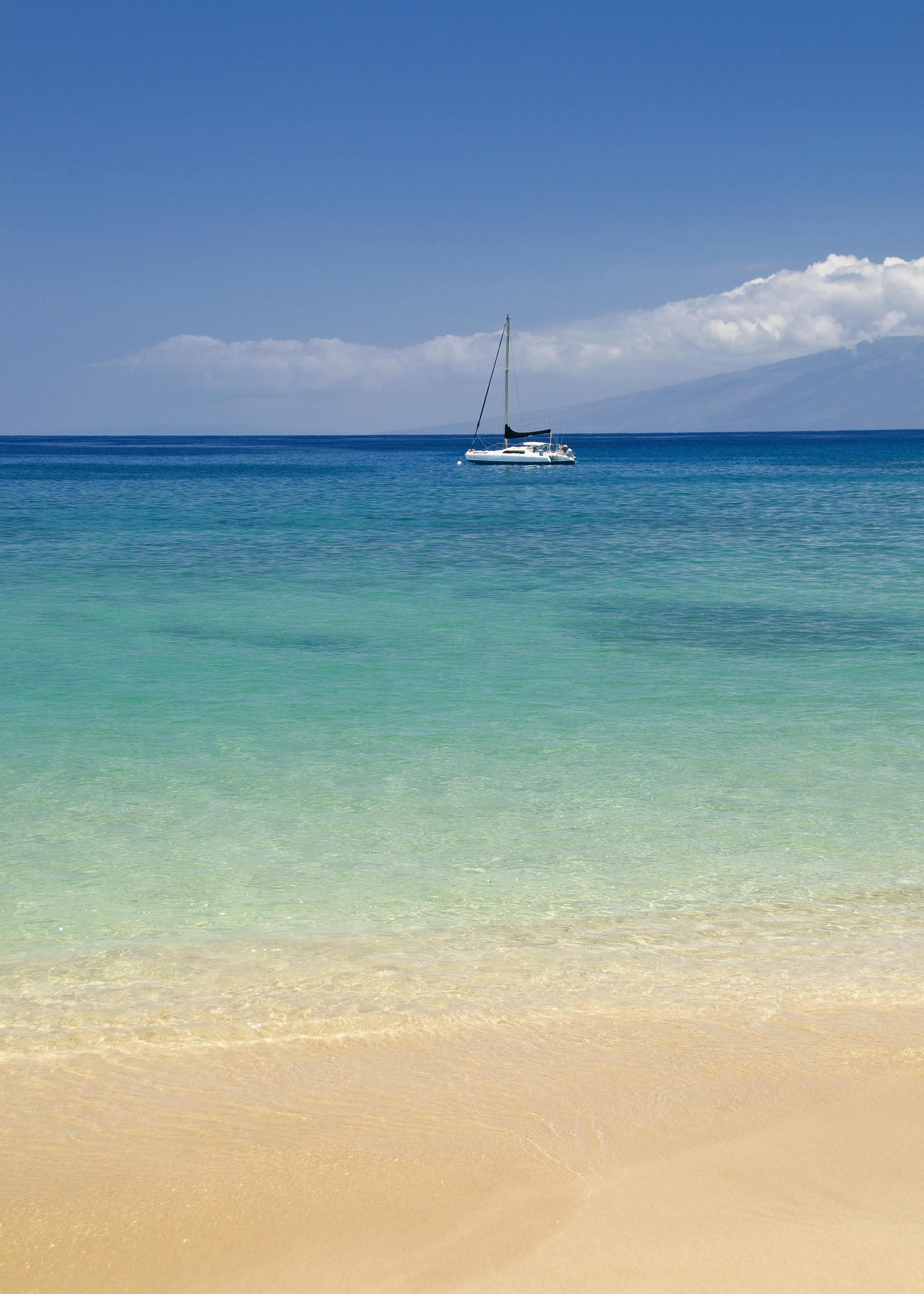 Catamaran from Ka'anapali Beach