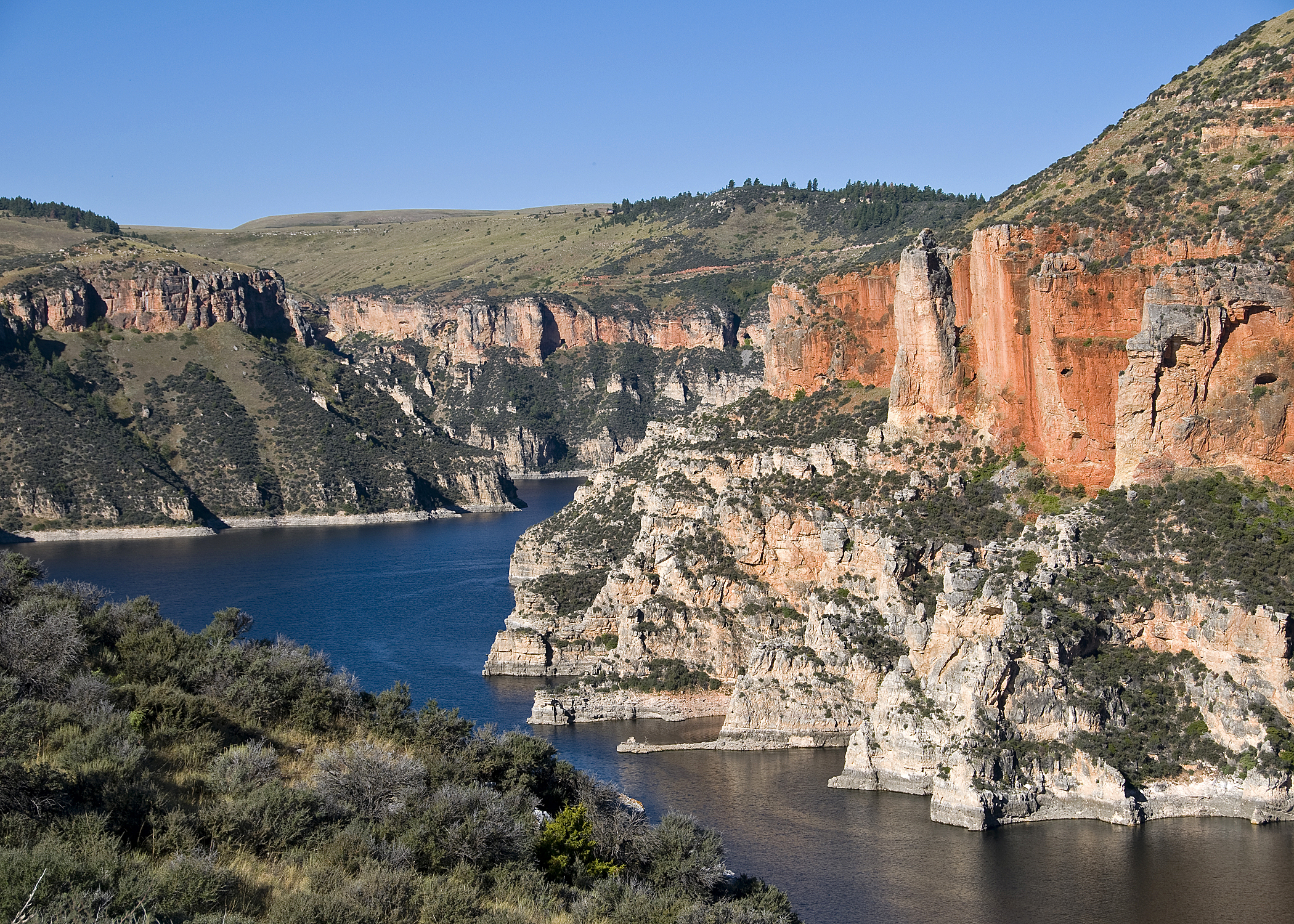 Big Horn Canyon (Above the Damn)