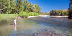 Fishing a Seam (Methow River)