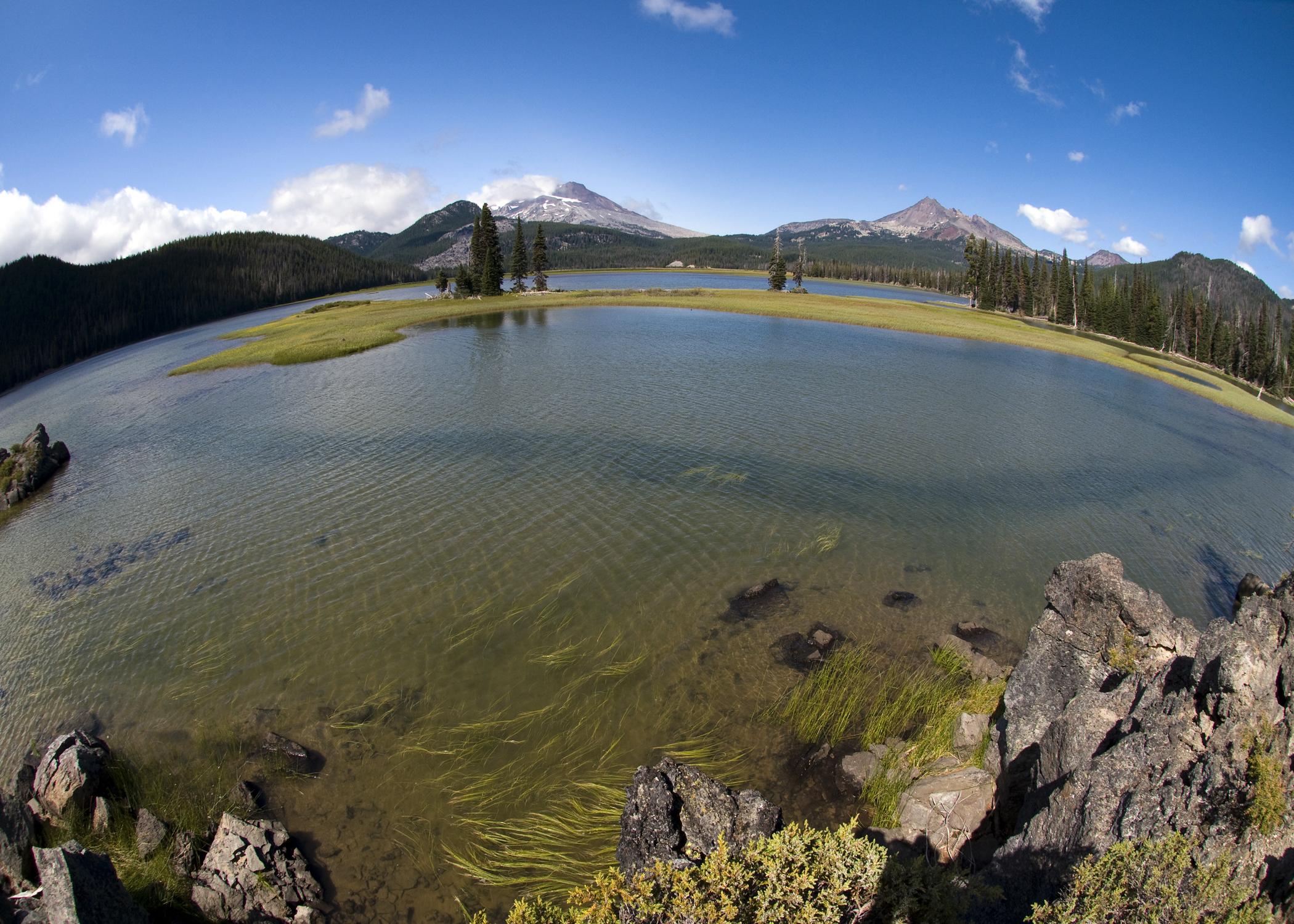 Sparks Lake (Fisheye)