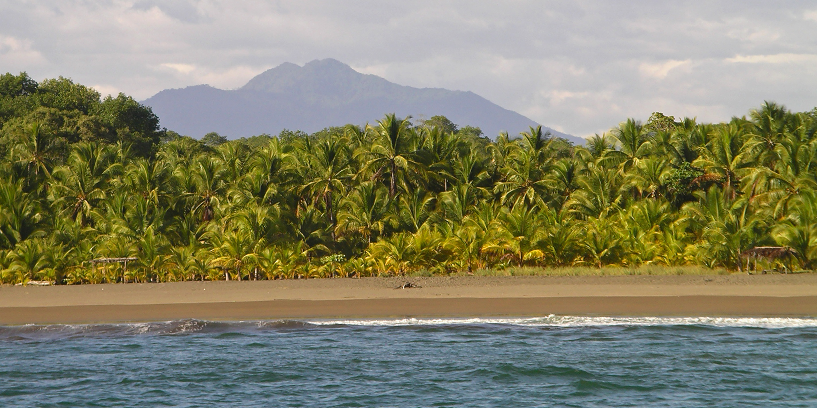 Isolated Coast North of Quepos