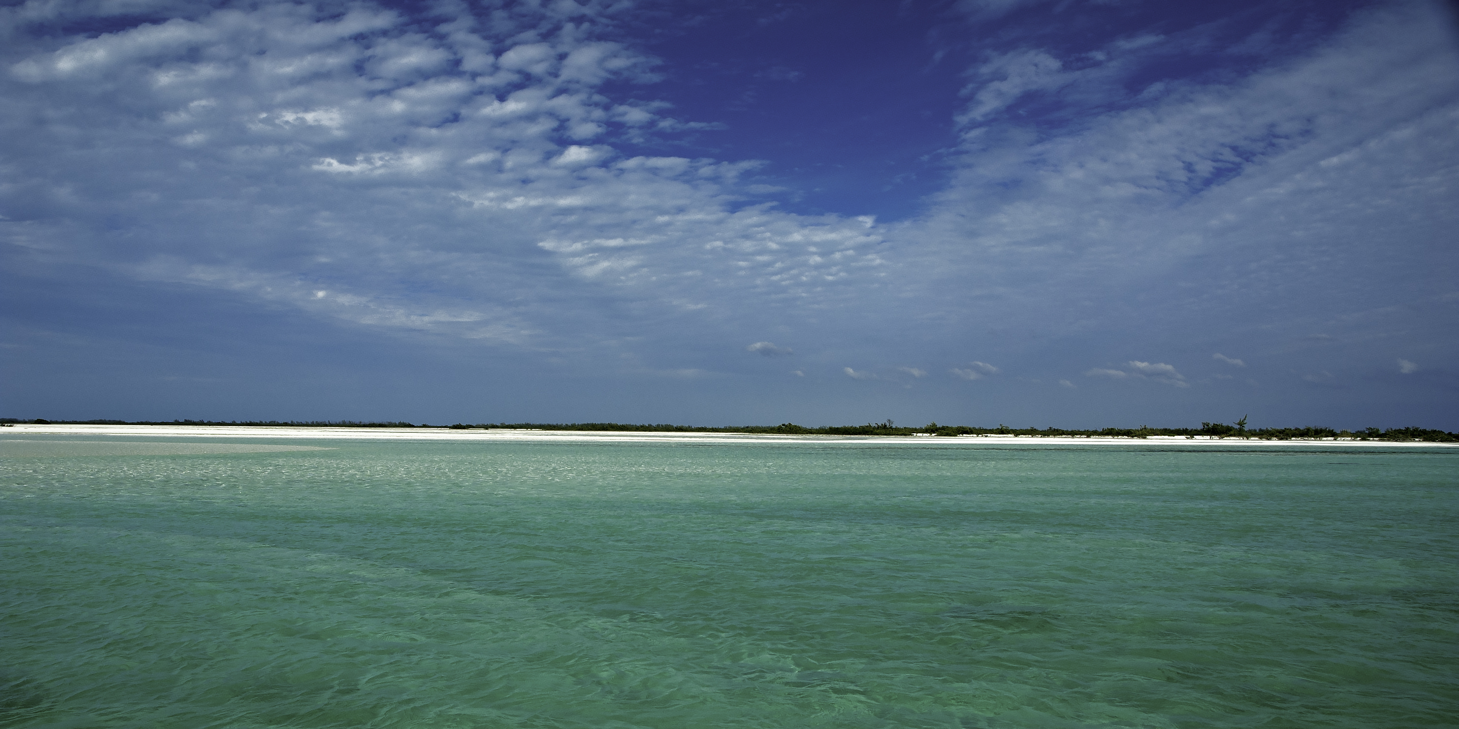 An Isolated Caye/Beach