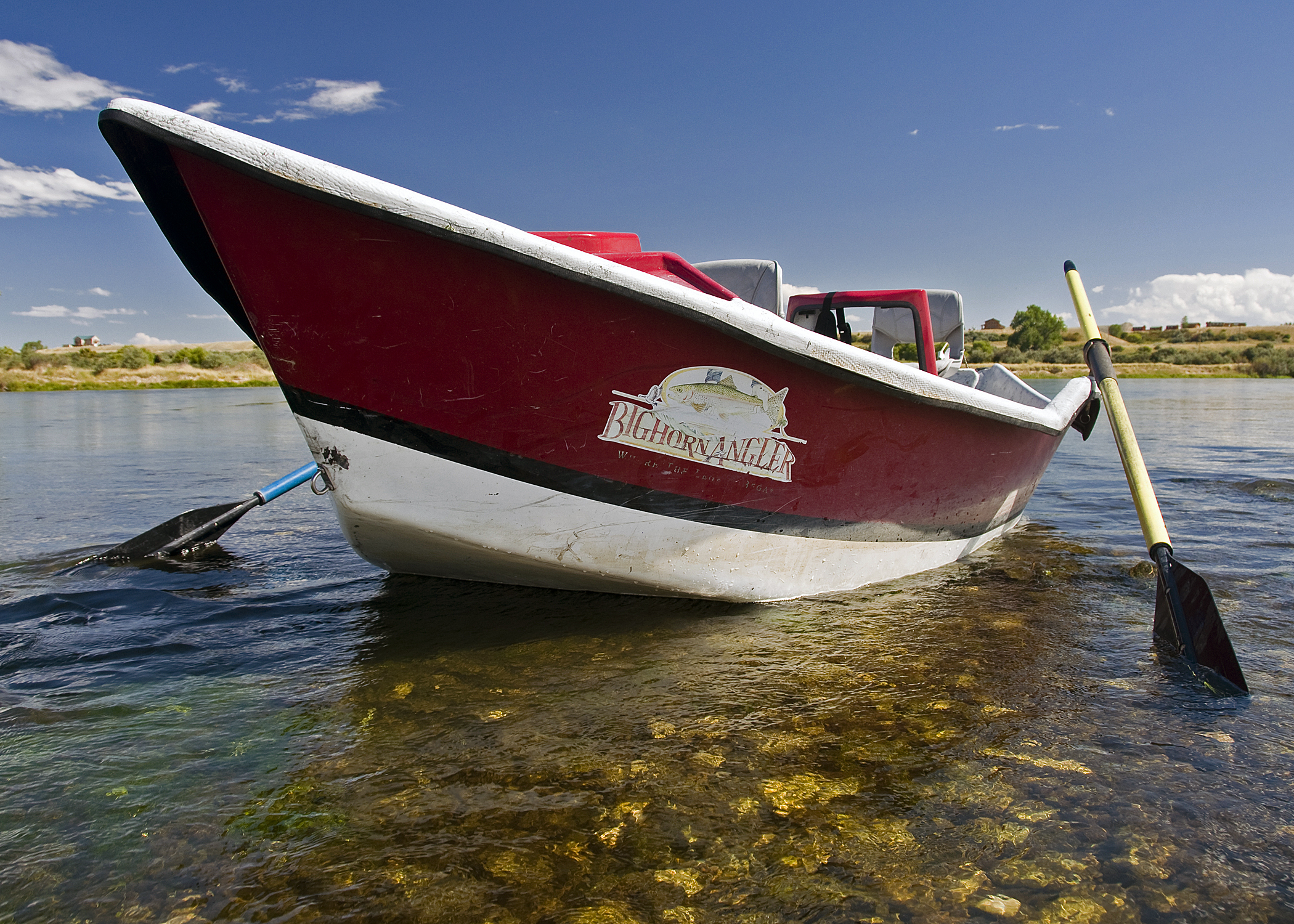 Drift Boat Rental (Front View)