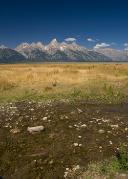 Creek with Teton Mtns