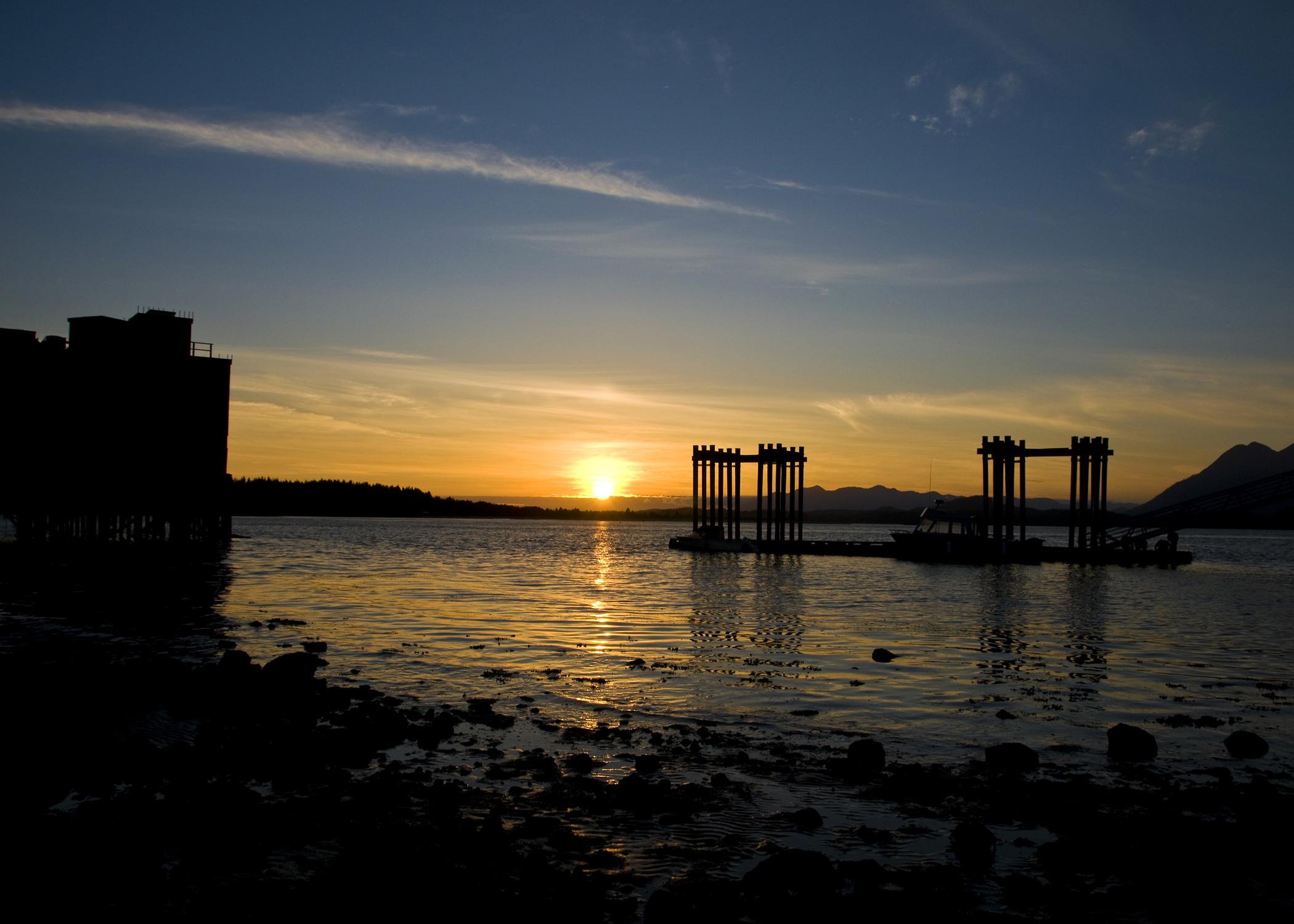 Sunset from Tofino