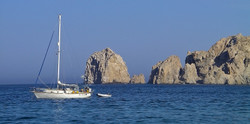 Sailboat in Cabo
