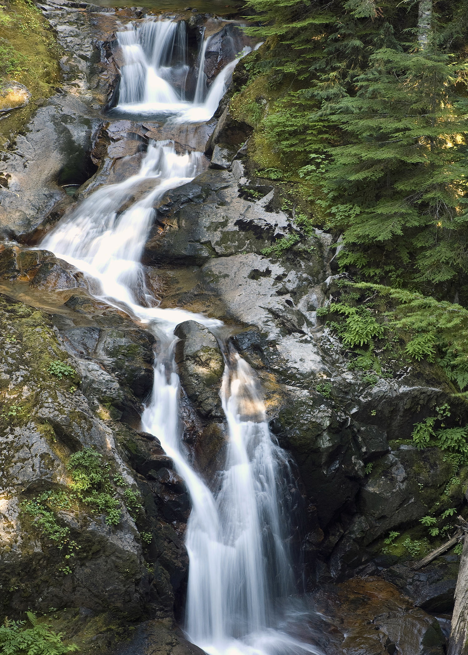 Deer Creek Falls (Mt. Rainier)