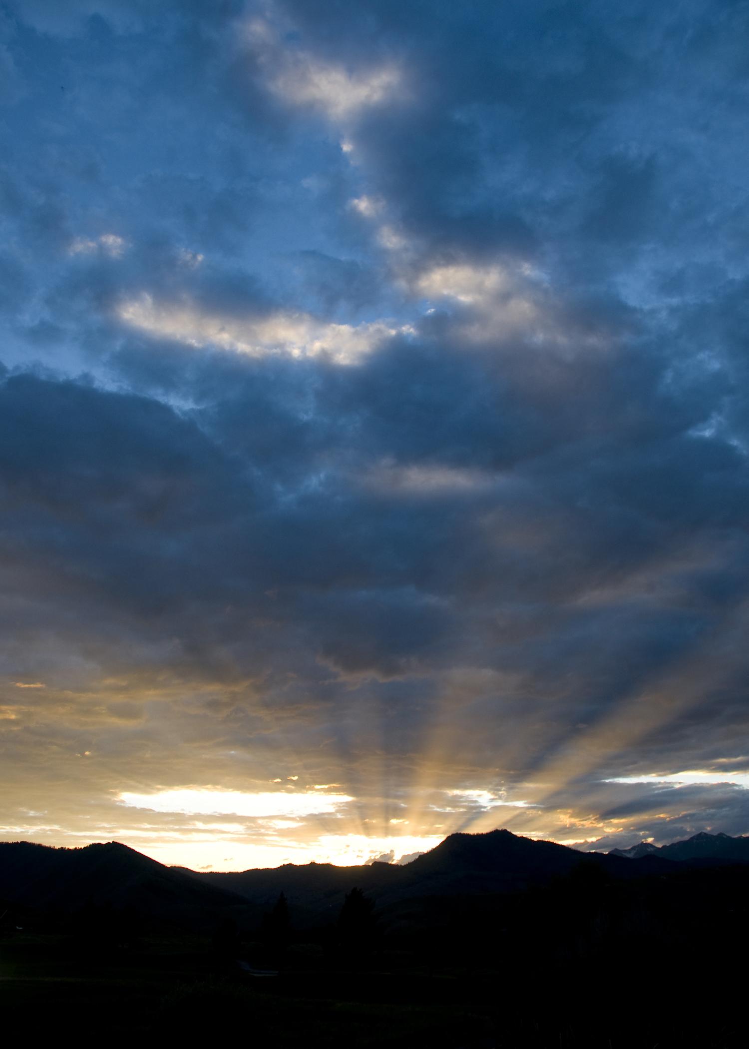Sun Valley Sunset I