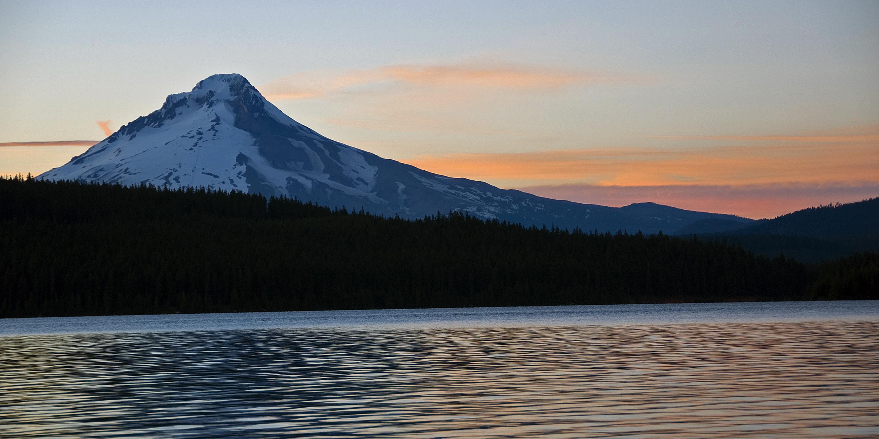Mt Hood at Dusk
