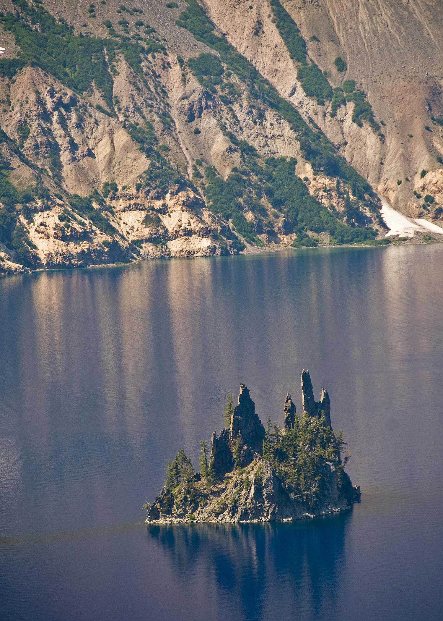 The Phantom Ship (Crater Lake)