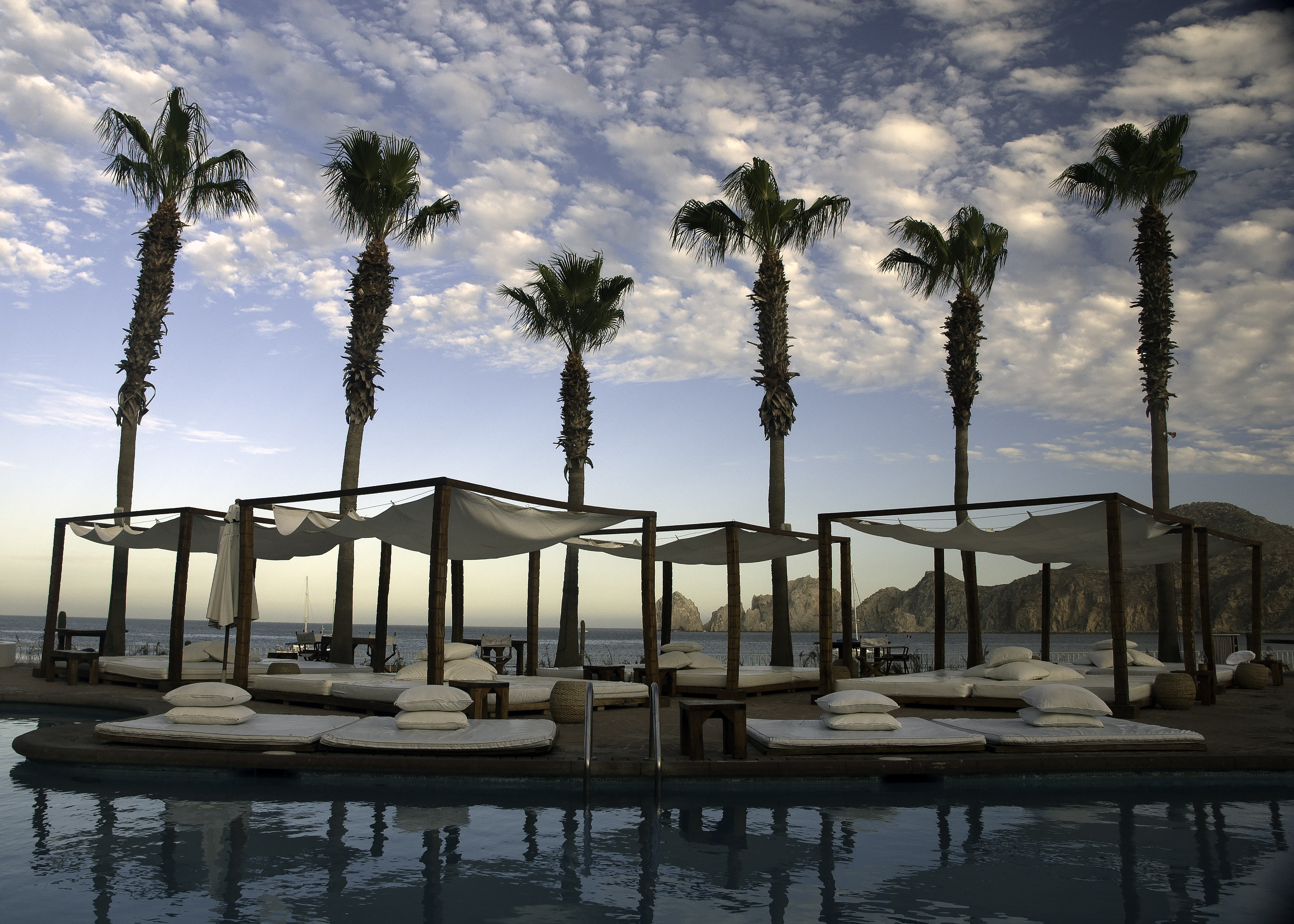 A Hotel Pool in Cabo