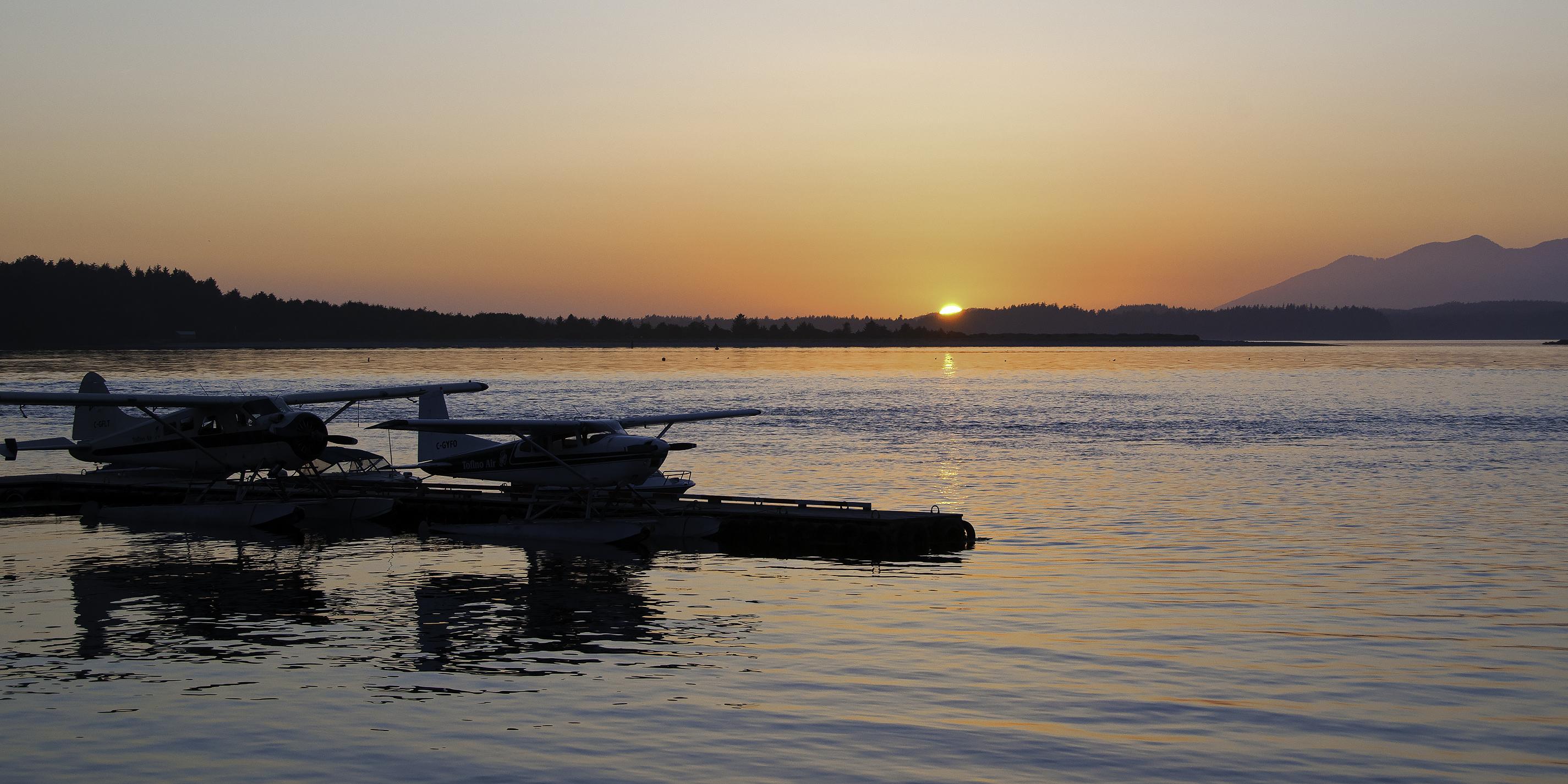 Float-Plane Sunset