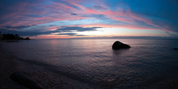 Sunset in Orient Point