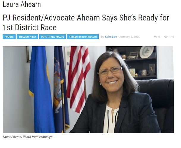 Laura Ahearn State Senate