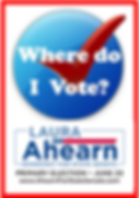 Laura Ahearn for State Senate Where Do I