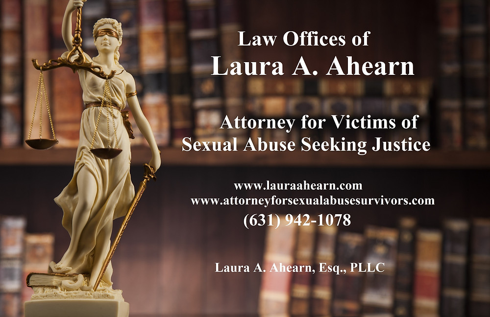 Laura Ahearn Attorney for Sex Abuse Victims New York Child Victims Act