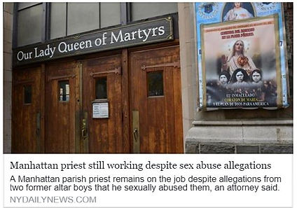New York Archdiocese Priest Abuse Victims Laura Ahearn